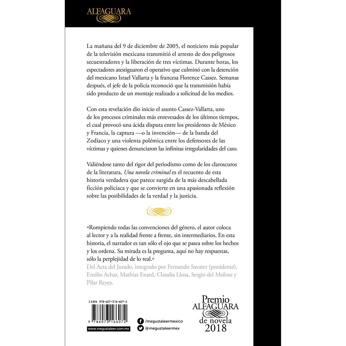 Una novela criminal Libro - Sanborns