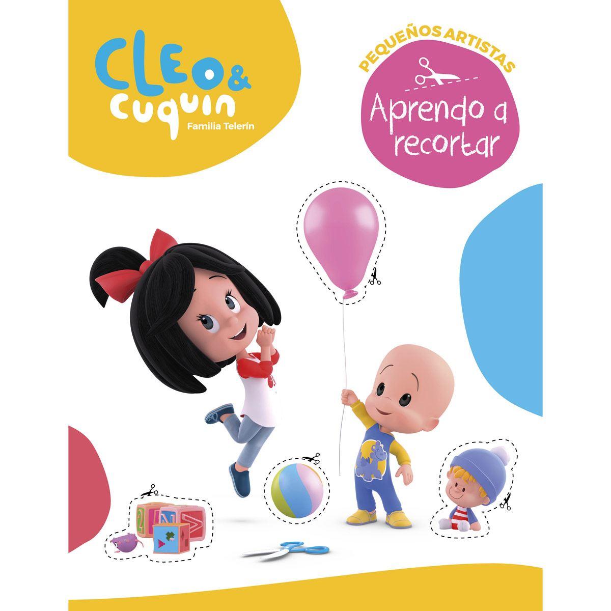 Cleo Y Cuquin. Aprendo a recortar