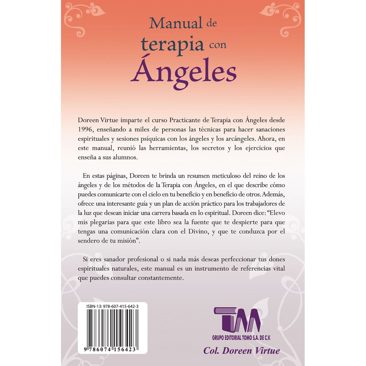 Manual de terapia con Ángeles Libro - Sanborns