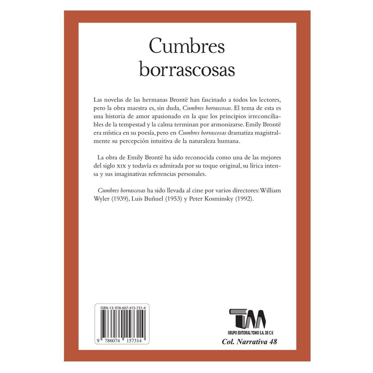 Cumbres borrascosas Libro - Sanborns