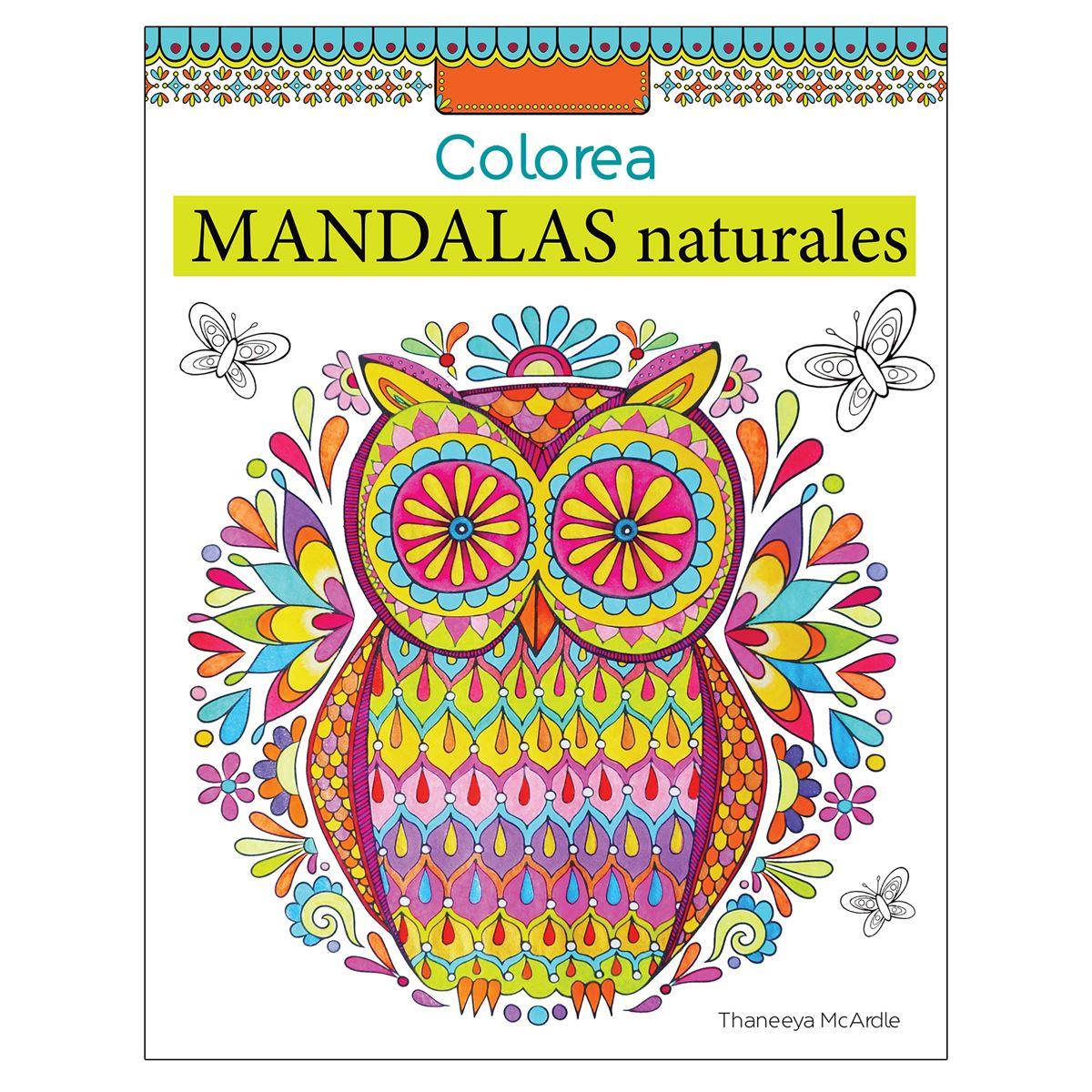 Colorea Mandalas Naturales