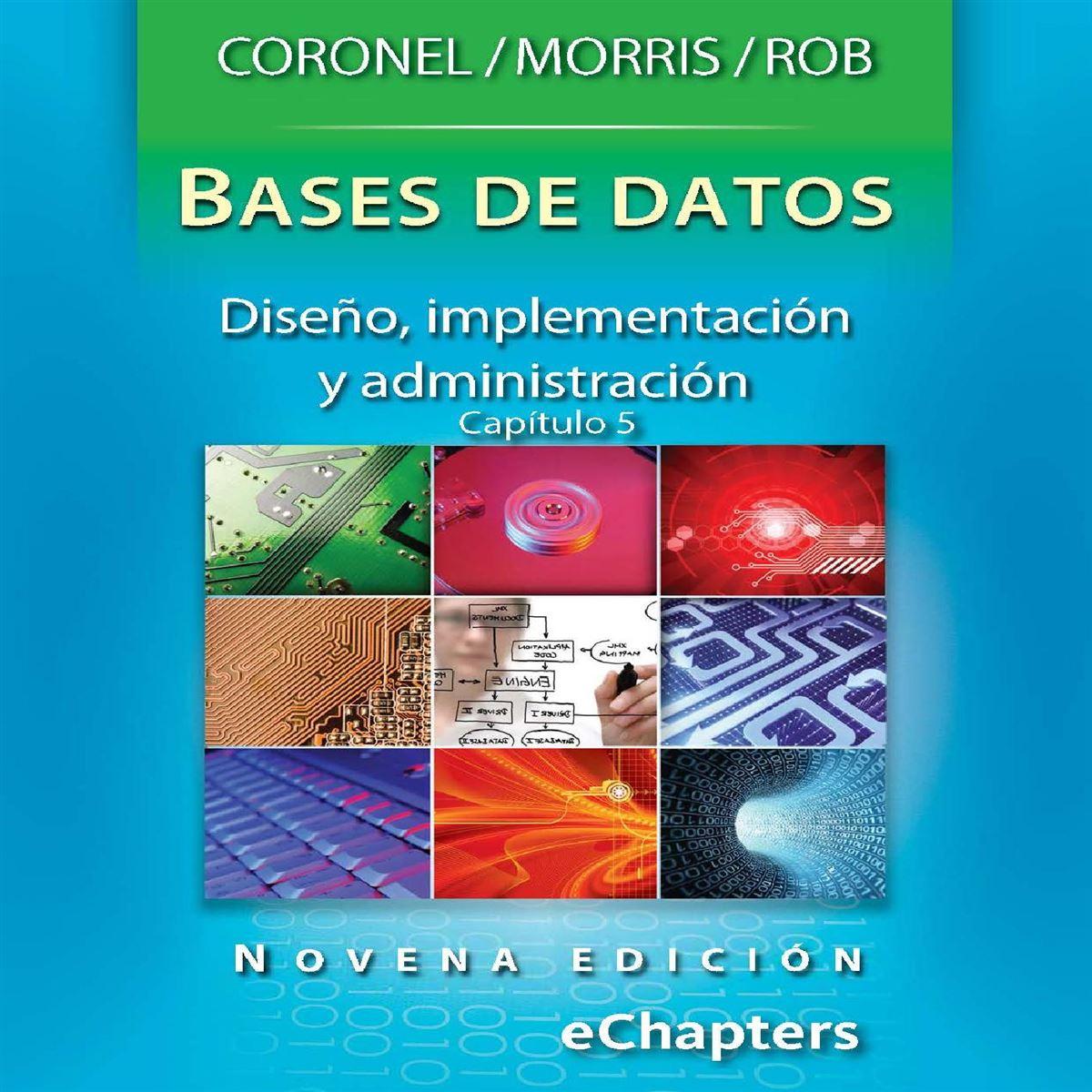 Bases de datos, diseño, implementación y administración. Capítulo 5