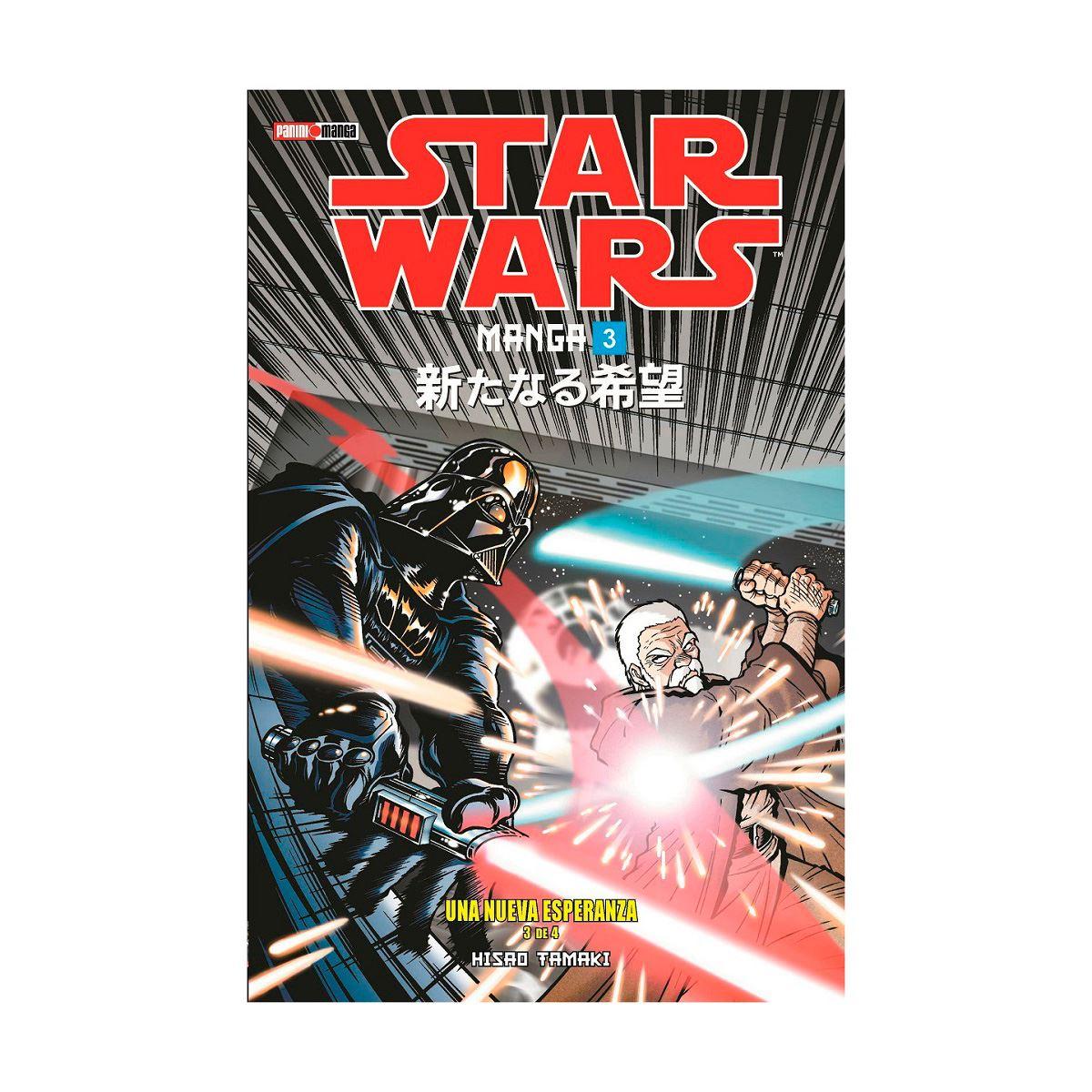 Star wars n.3: episodio iv una nueva esperanza 3 de 4 Libro - Sanborns