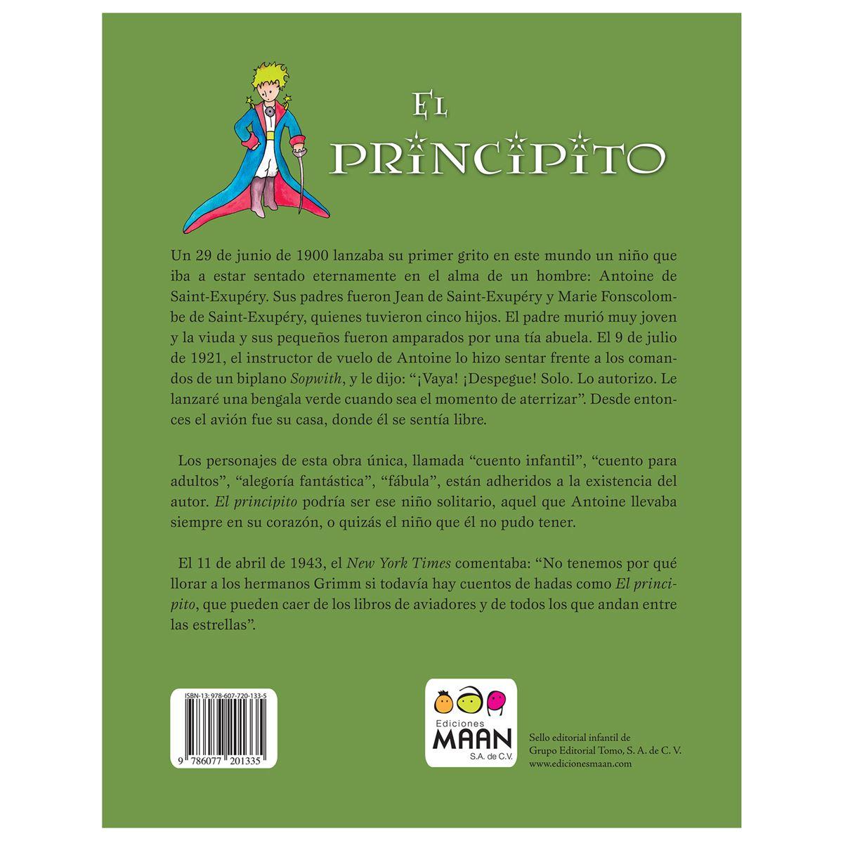 El principito Libro - Sanborns