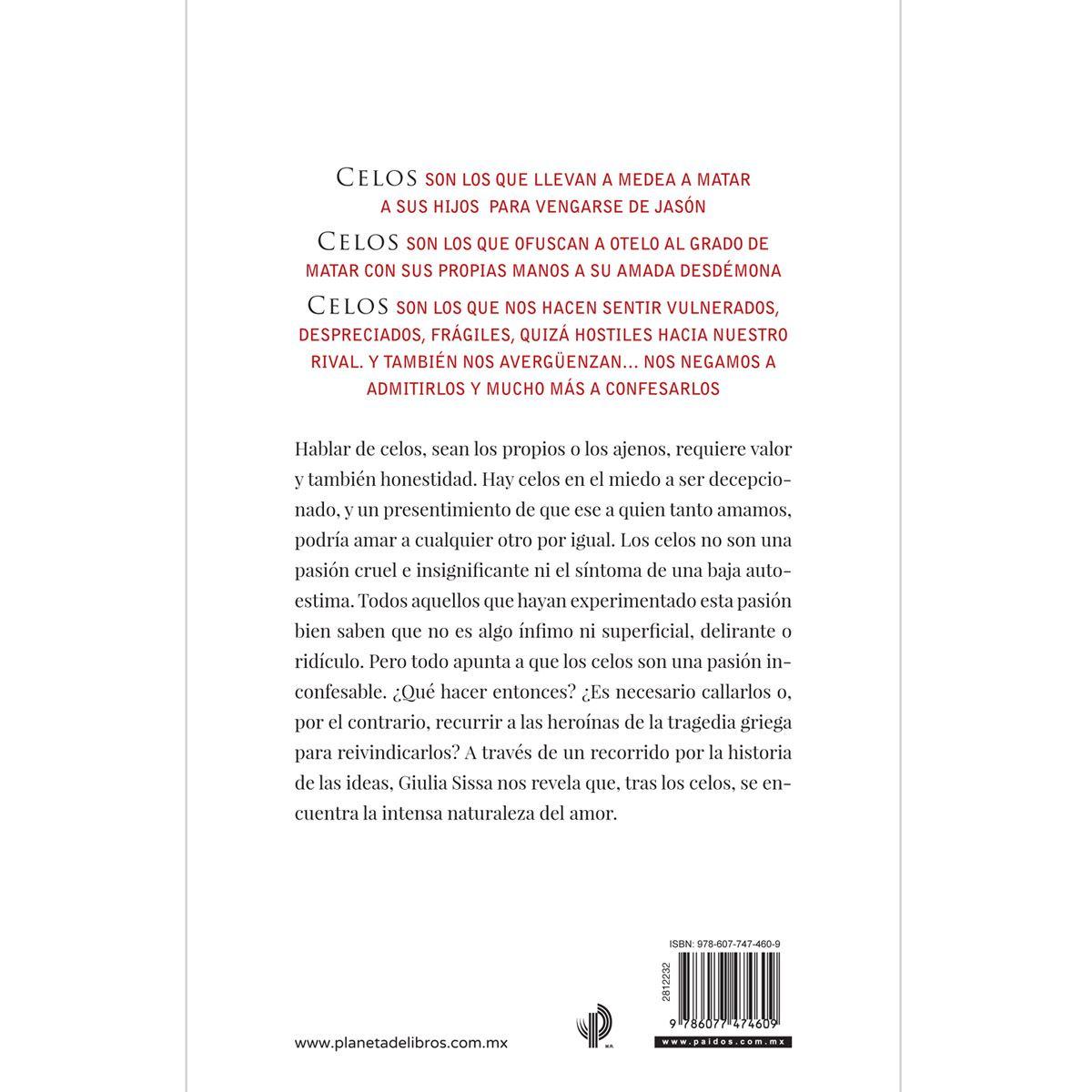 Celos Libro - Sanborns