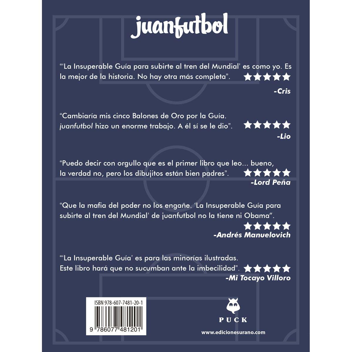 La insuperable guía para subirte al tren del mundial Libro - Sanborns