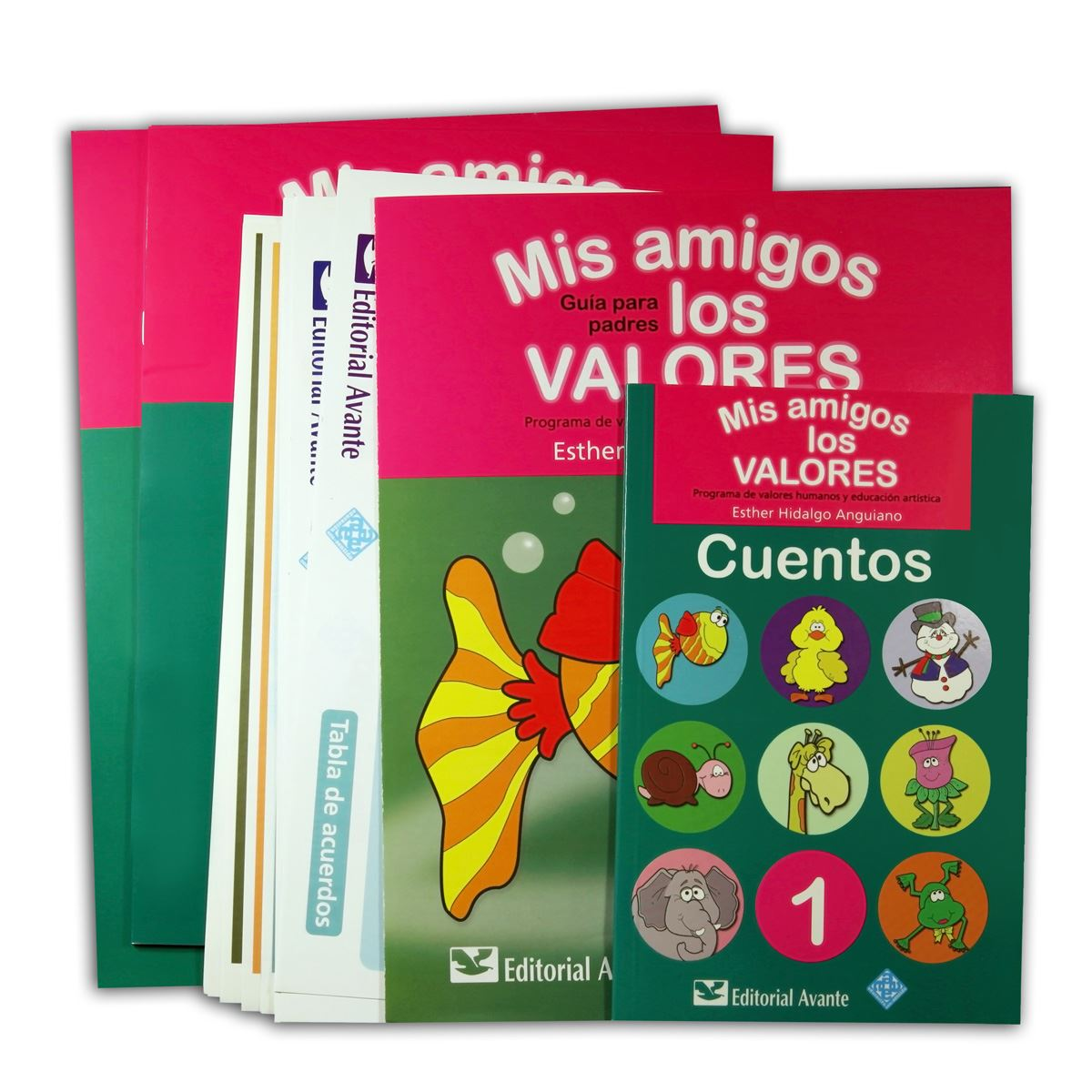 Mis Amigos Los Valores 1 Kit