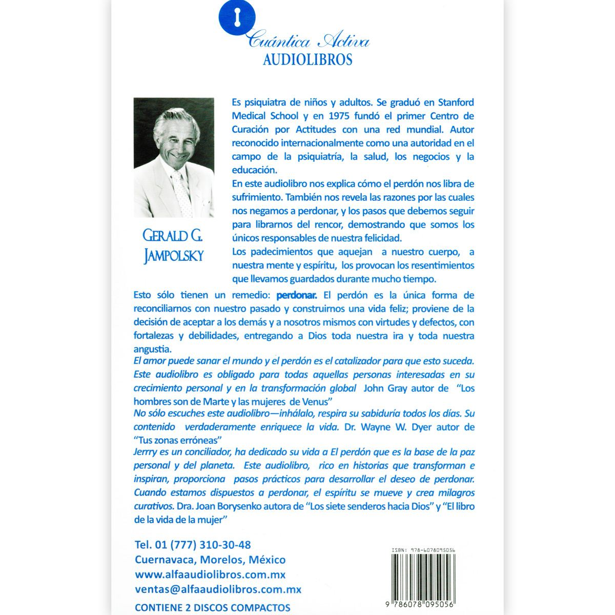 Audio libro el perdón - jampolsky Libro - Sanborns