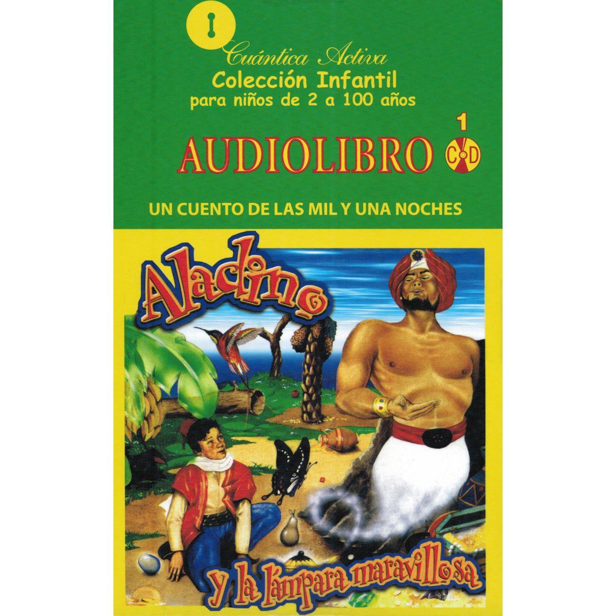Audiolibro: Aladino y La Lámpara Maravillosa