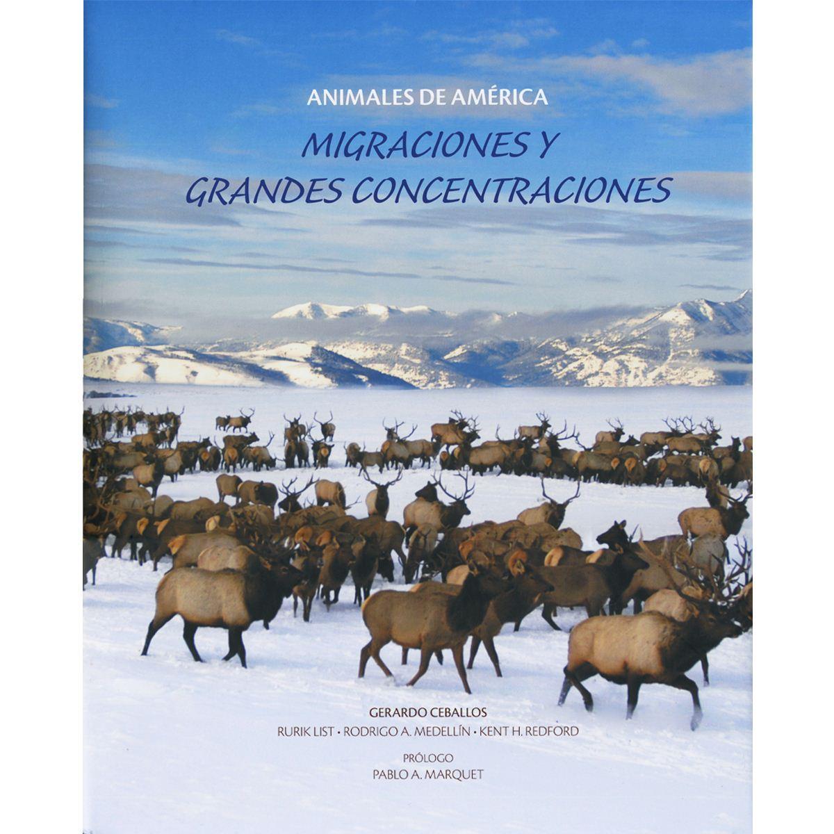 Animales de américa, migraciones y grandes concentraciones Libro - Sanborns