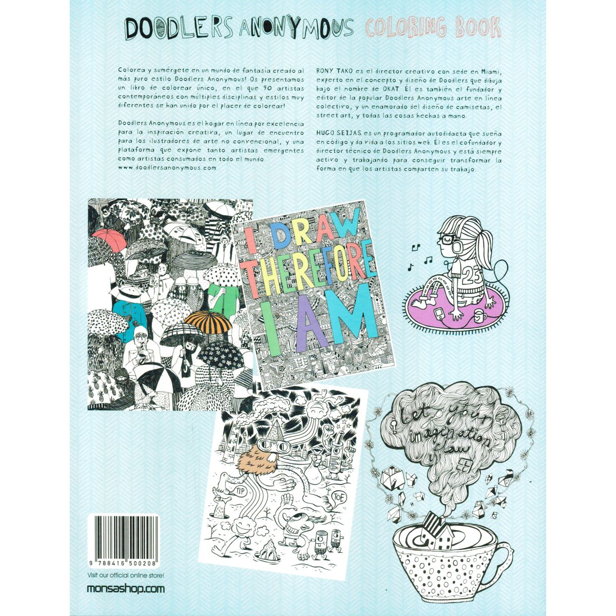 Doodlers Anonymous Coloring Book