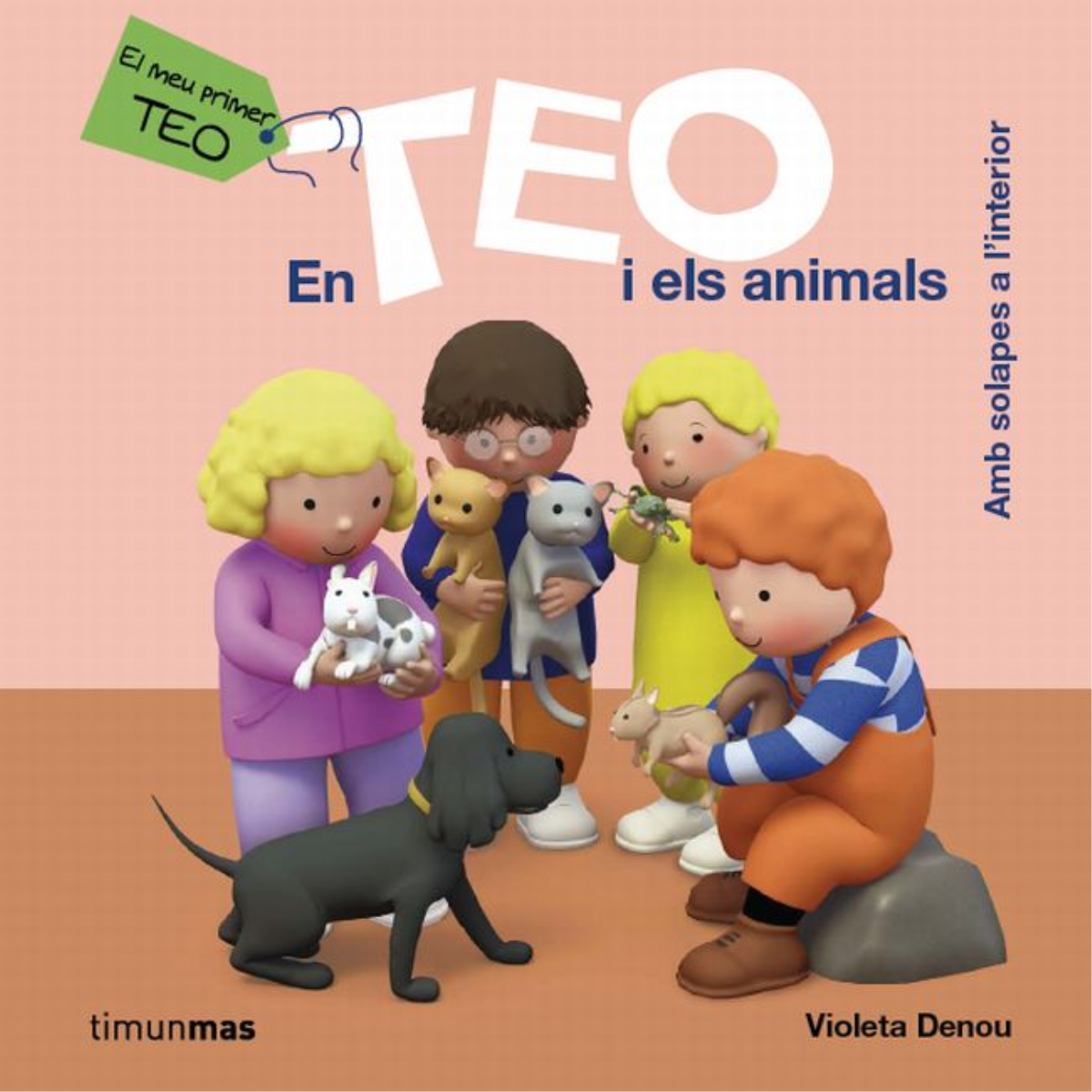 En Teo i els animals (ebook interactiu)