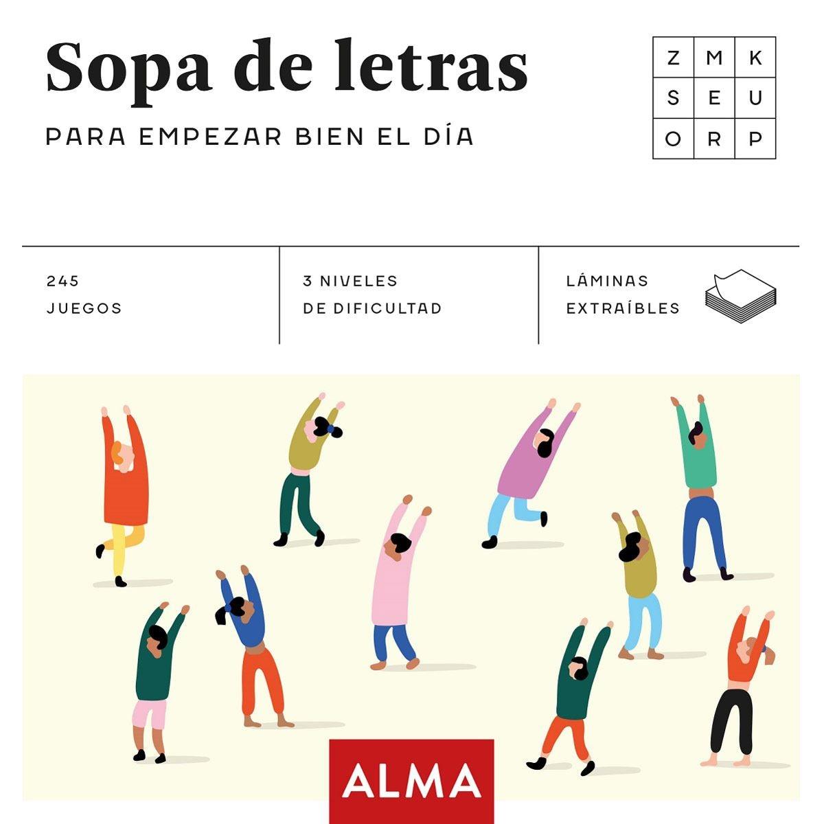 SOPA DE LETRAS PARA EMPEZAR BIEN EL DIA