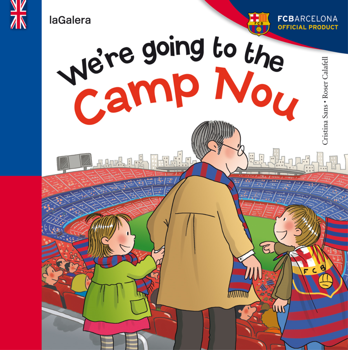 We're going to the Camp Nou