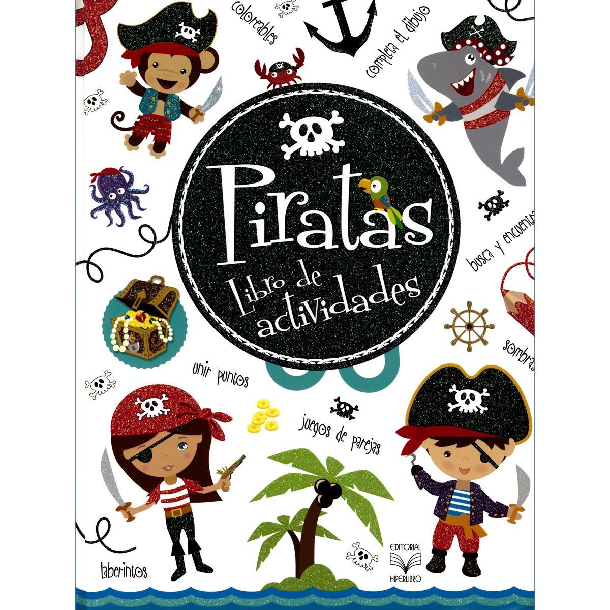 Piratas. Libro de actividades