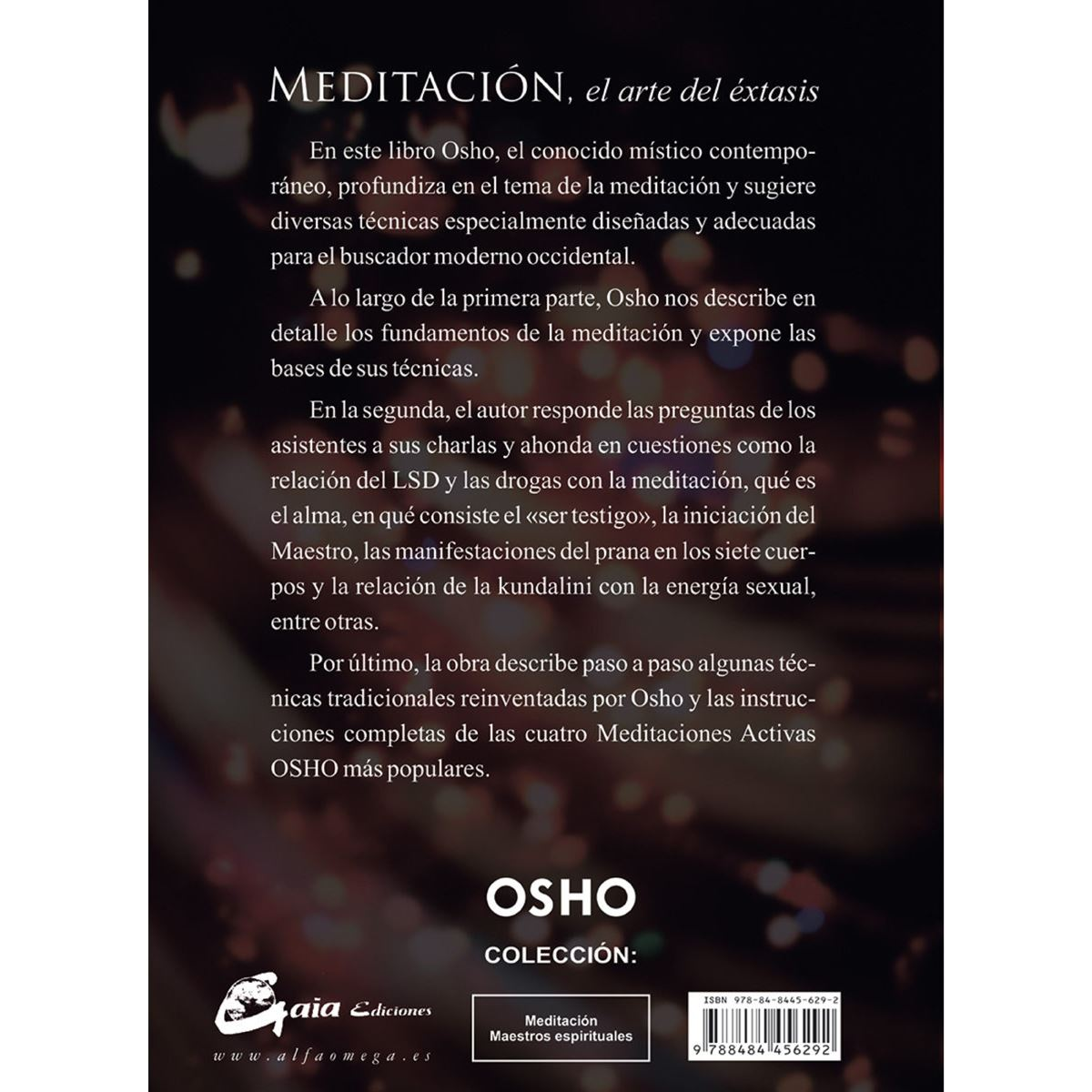 Meditación: el arte del éxtasis