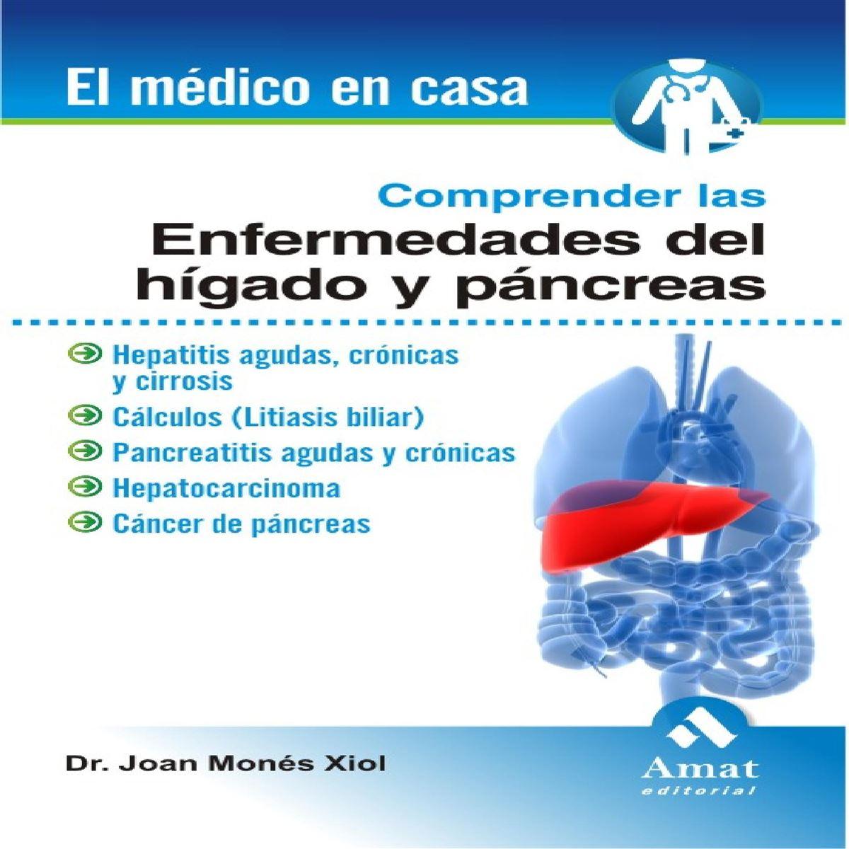 Comprender las enfermedades del hígado y páncreas