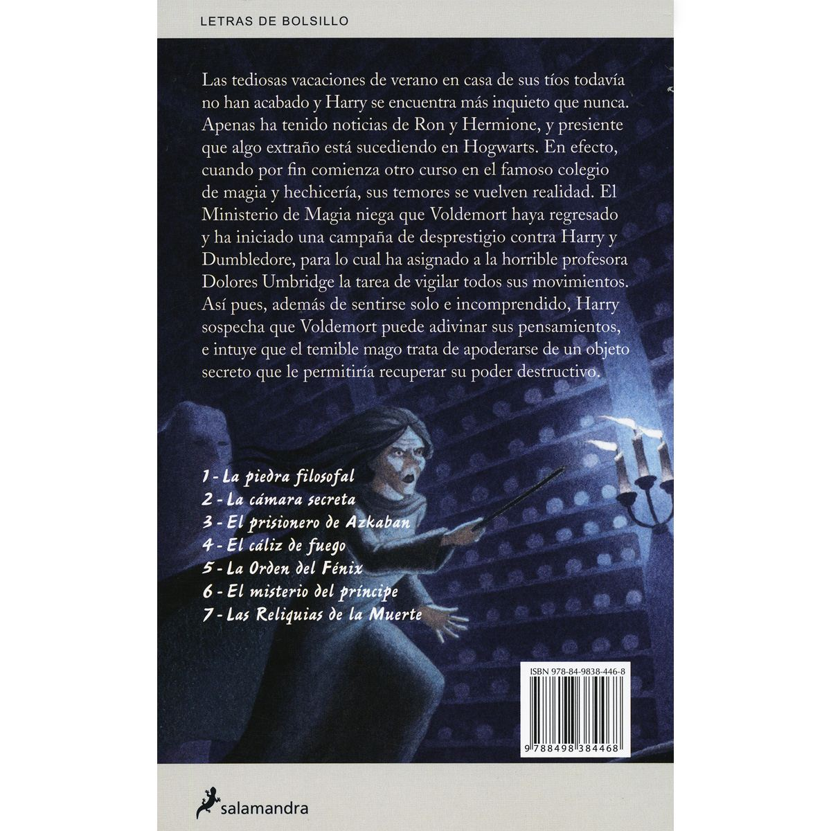 Harry potter y la orden del fénix Libro - Sanborns