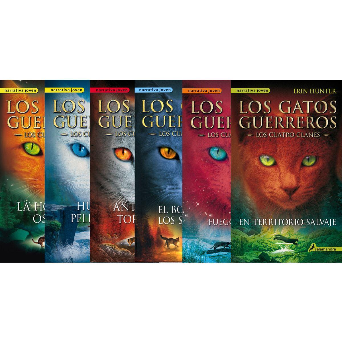 Saga Los Gatos Guerreros Cuatro Clanes Paquete 6 Vol
