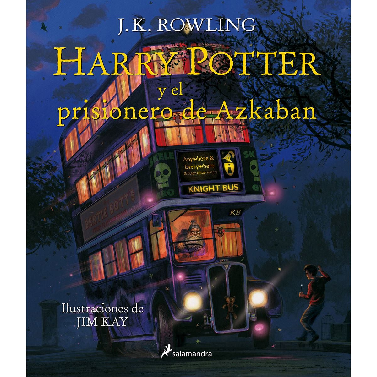 Harry potter 3. harry potter y el prisionero de azkaban (edición ilustrada) Libro - Sanborns