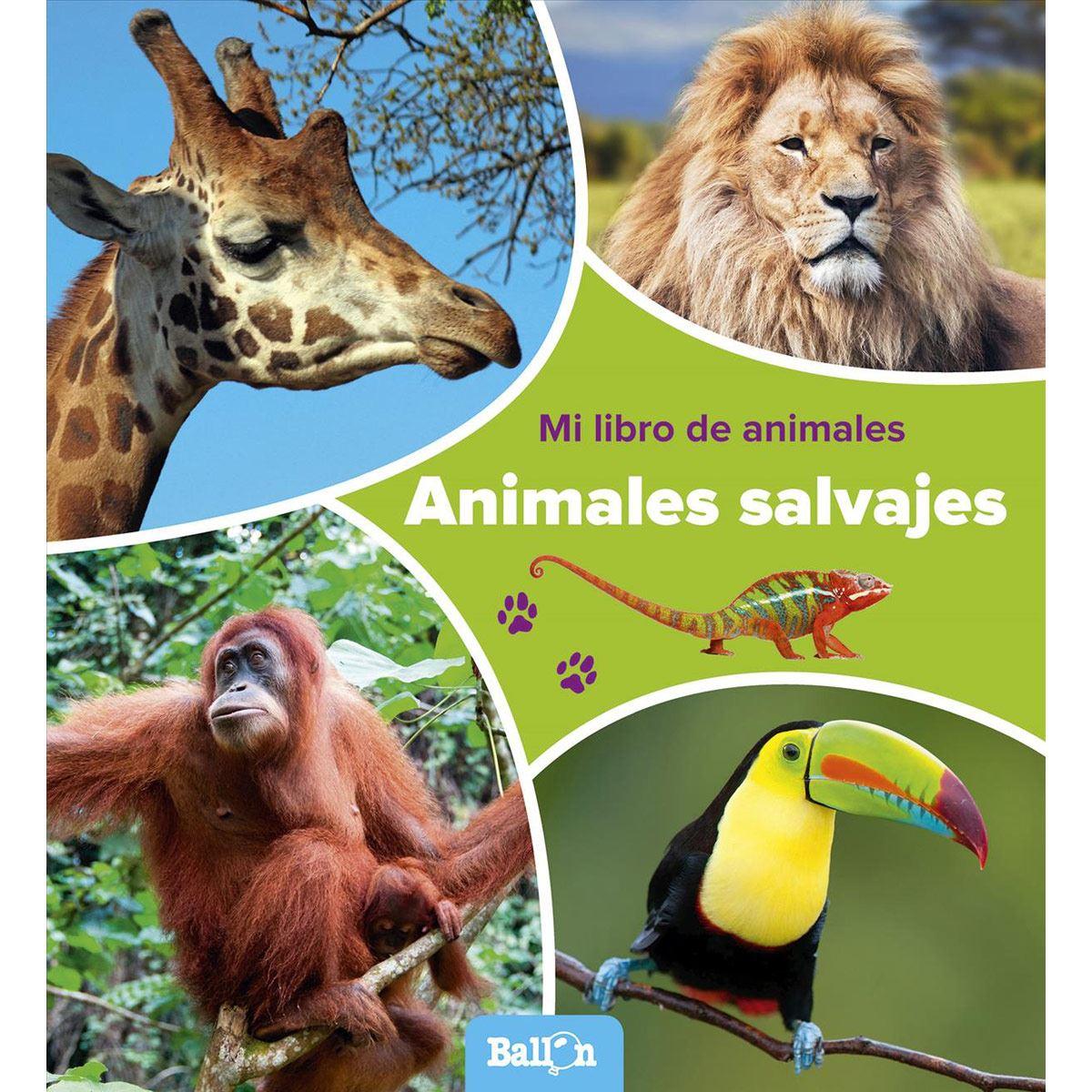 Animales salvajes (Mi libro de animales)