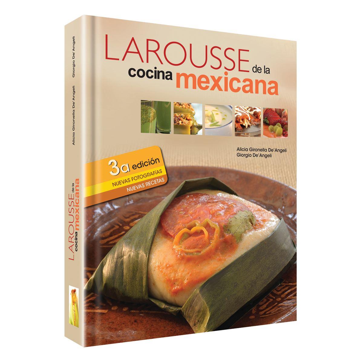 Larousse de la cocina mexicana Libro - Sanborns