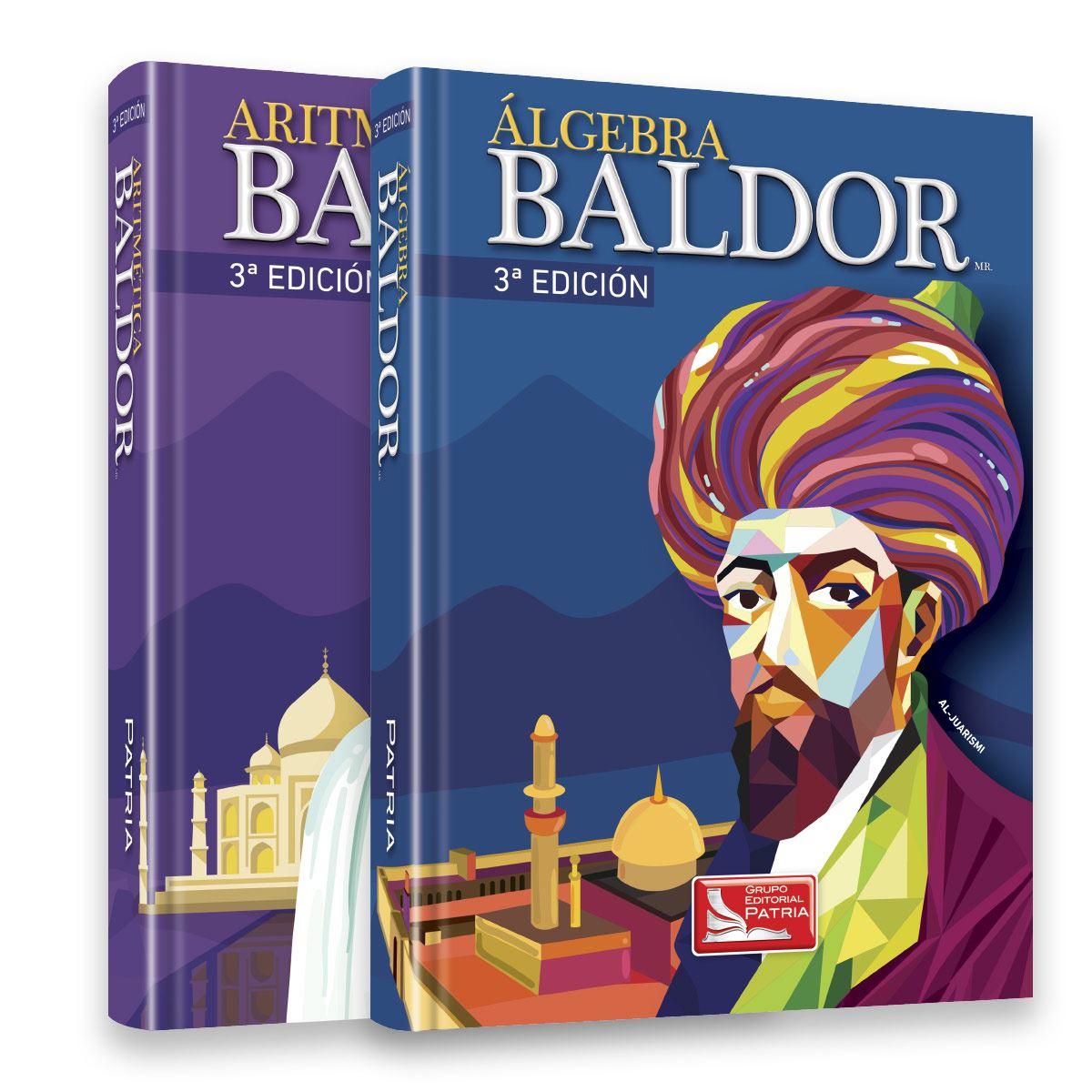 Paquete Algebra Aritmética - Baldor