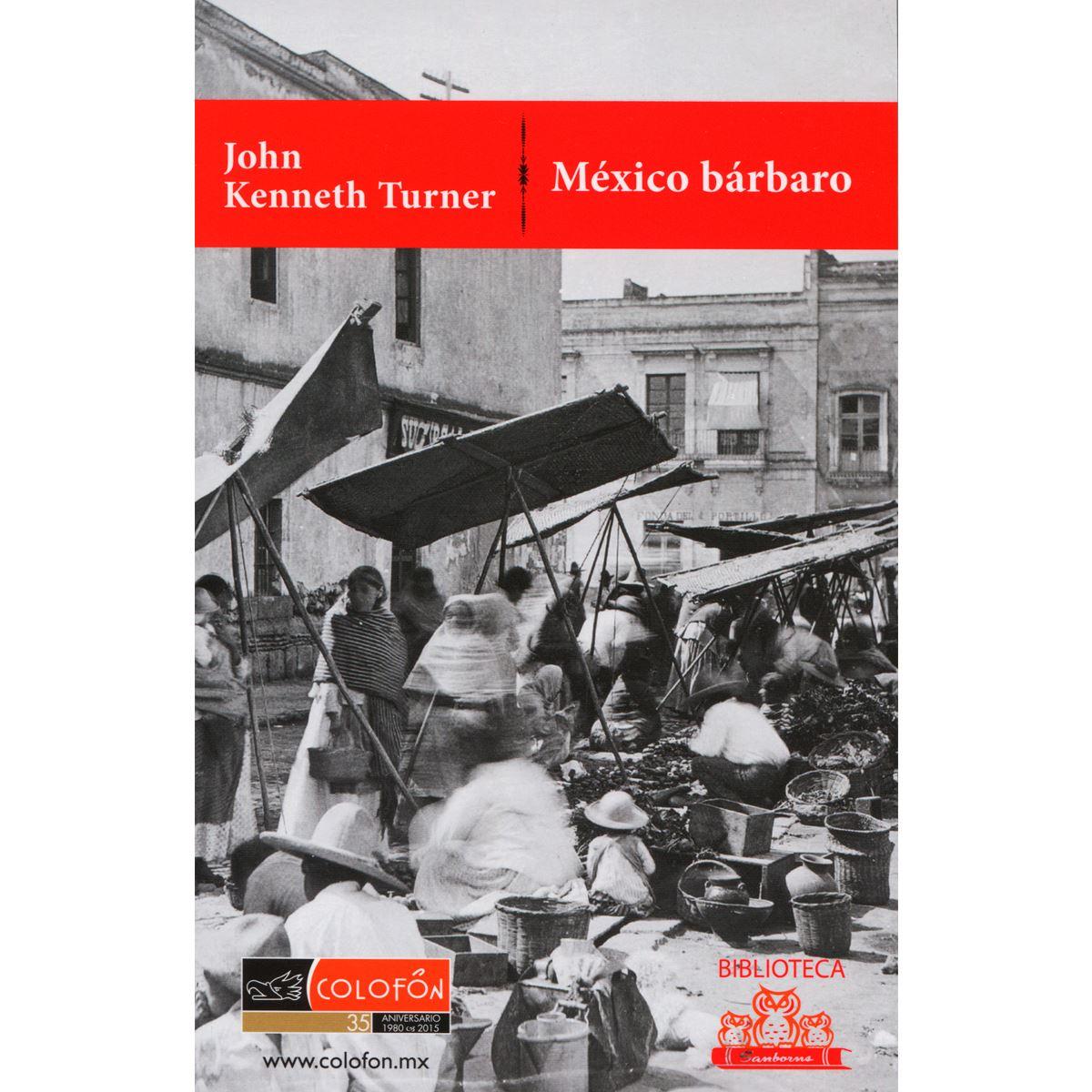 México bárbaro Libro - Sanborns