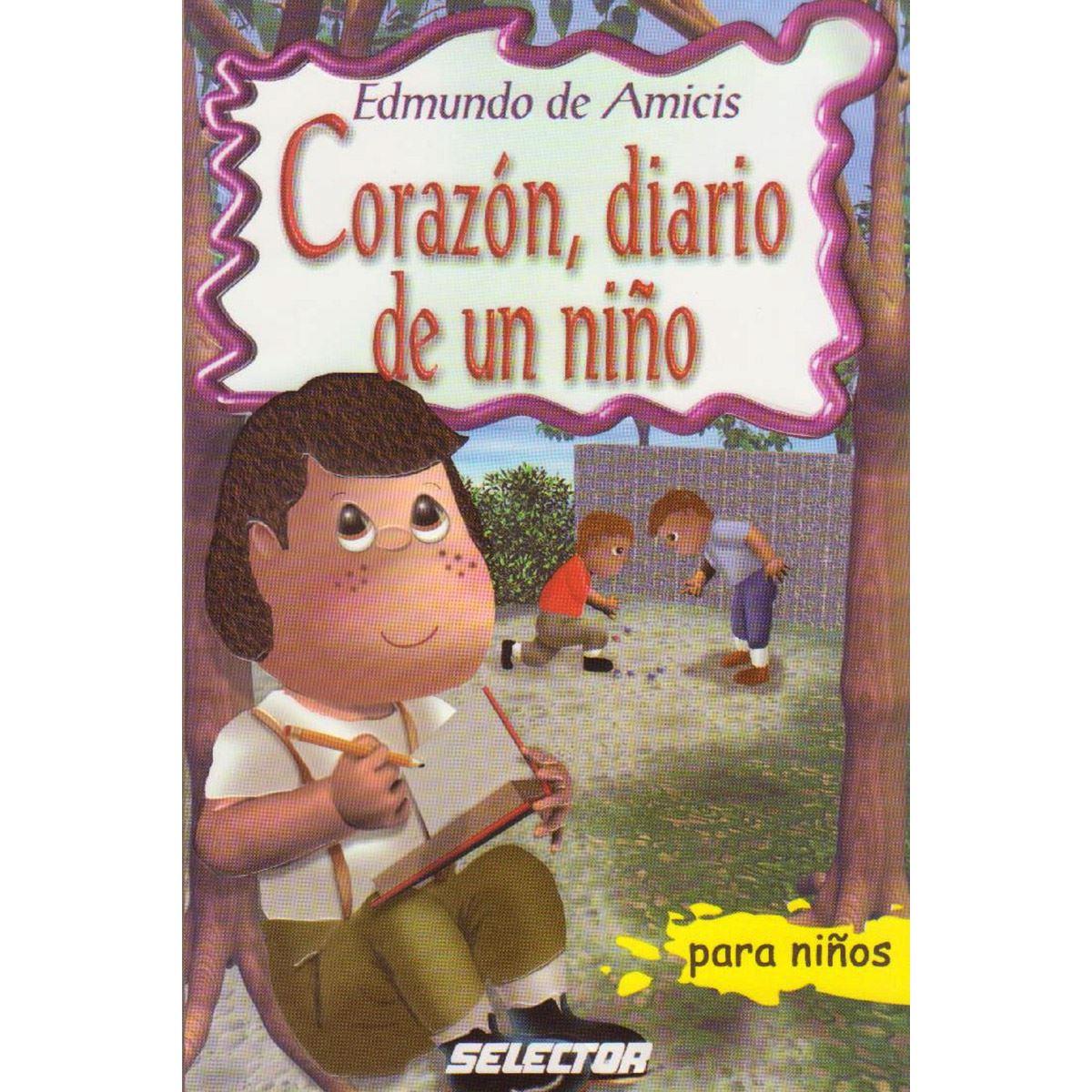 Corazón diario de un niño Libro - Sanborns