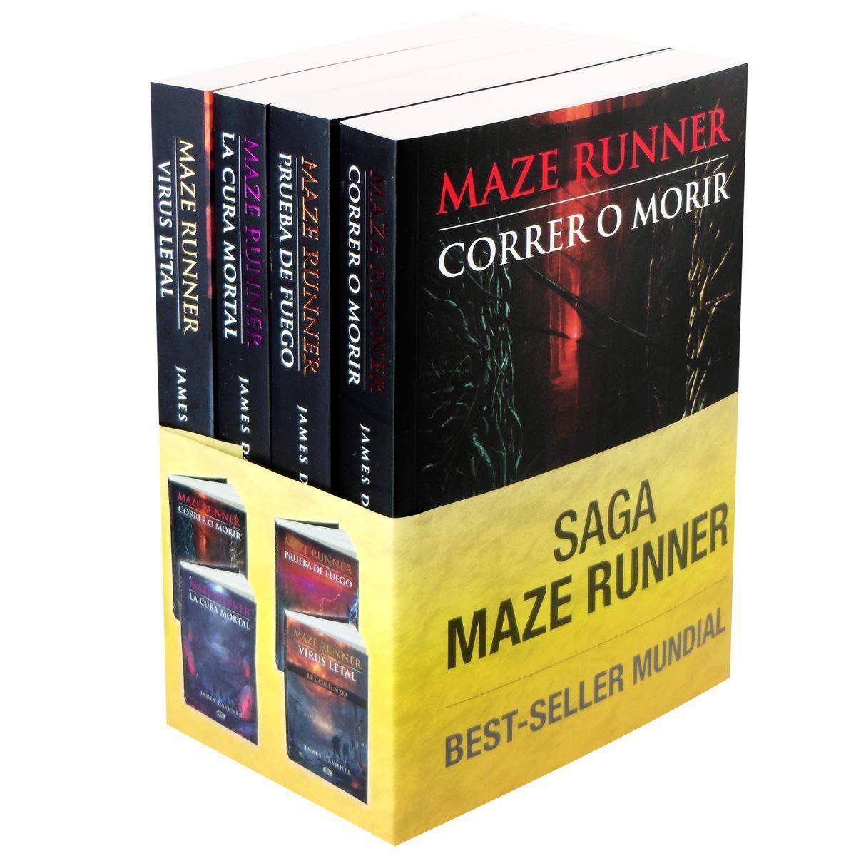 Saga maze runner Libro - Sanborns
