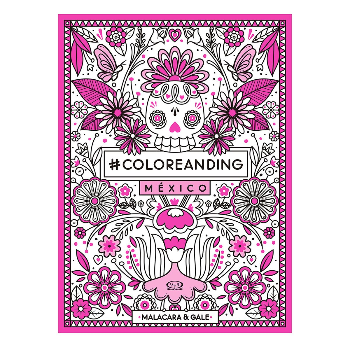 México #coloreanding Libro - Sanborns