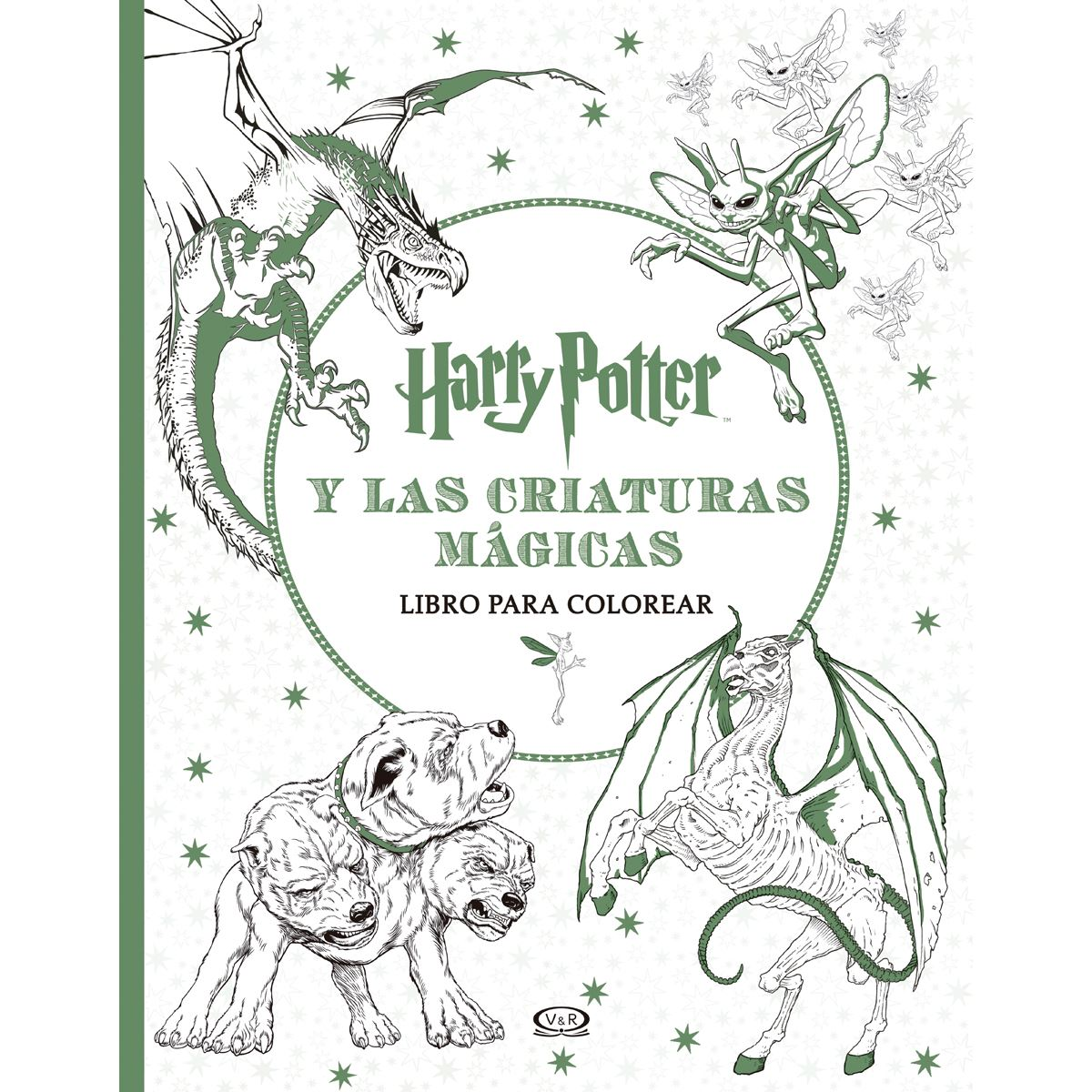 Harry potter y las criaturas mágicas libro para colorear Libro ...