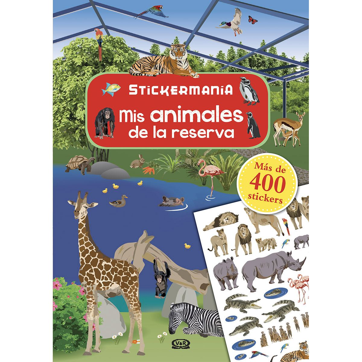 Mis animales de la reserva stickermanía Libro - Sanborns
