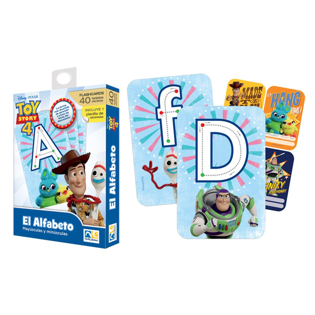 Flashcards Alfabeto Toy story Novelty