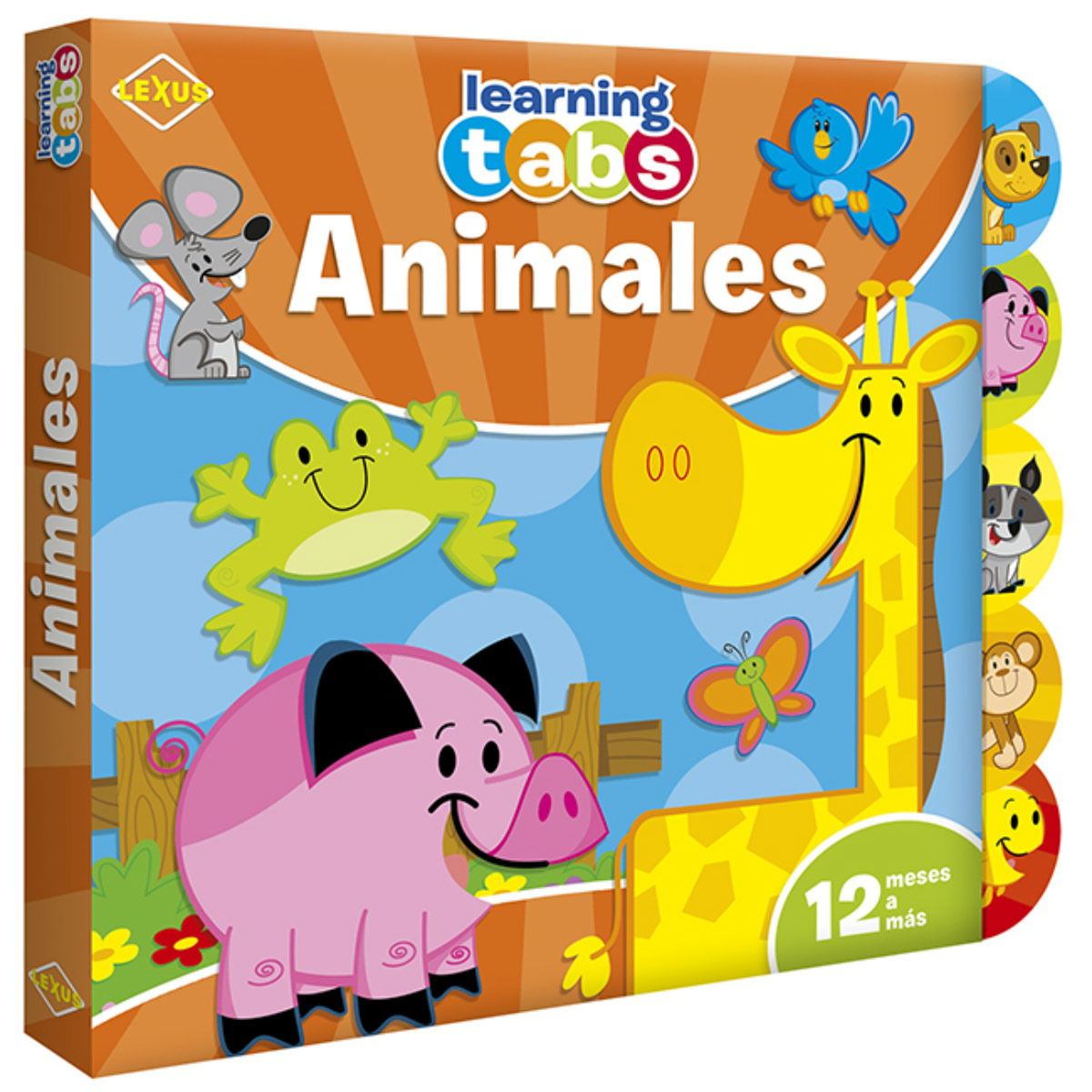 Animales learning tabs