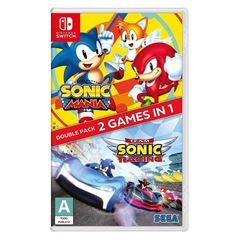 NSW Sonic Mania + Team Sonic R Double Pack - Sanborns