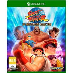 Xbox One Street Fighter 30 Aniversario - Sanborns