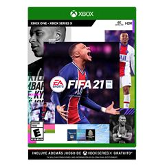 Xbox One FIFA 21 - Sanborns
