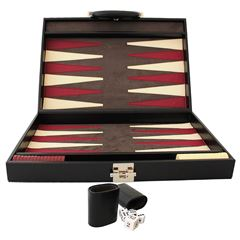 Backgammon  Negro Med 408 Curpiel - Sanborns