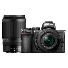 Cámara Nikon Z50 16-50 y 50-250 mm F/4 - Sanborns