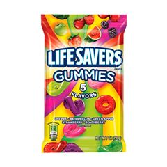 GOMITAS 5 FLAVOR LIFE SAVERS 198g - Sanborns
