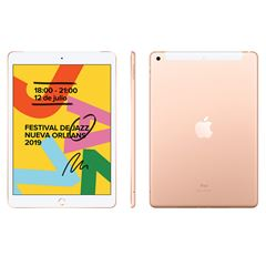 "iPad 10.2"" 32GB Wi-Fi Gold - Sanborns"