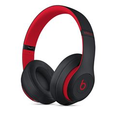 Audífonos Beats Studio3 Wireless Negro y Rojo - Sanborns