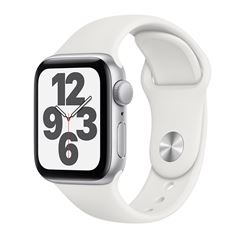 Apple Watch SE GPS Plata 40mm con Correa Blanca - Sanborns