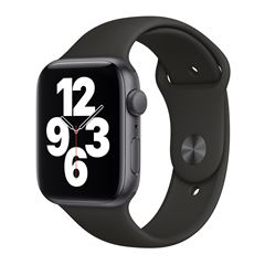 Apple Watch SE GPS Gris 44mm con Correa Negra - Sanborns