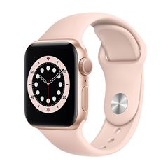 Apple Watch S6 GPS Dorado 40mm con Correa Rosa - Sanborns