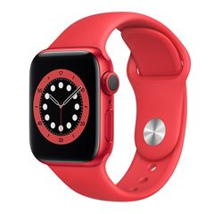 Apple Watch S6 GPS Roja 40mm con Correa Roja - Sanborns