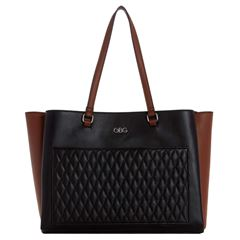 Bolso G By Guess Lionel tote negro multi - Sanborns