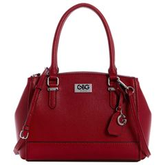 Bolso G By Guess Dorothea Satchel  rojo - Sanborns