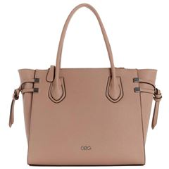Bolso G By Guess Marquis  Tote  beige - Sanborns